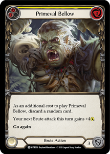Primeval Bellow (Yellow) | Common - Unlimited