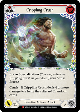 Crippling Crush | Majestic [Rainbow Foil] - Unlimited