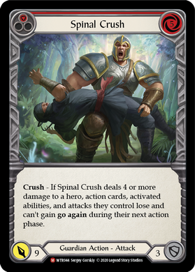 Spinal Crush | Majestic [Rainbow Foil] - Unlimited