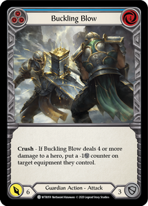 Buckling Blow (Blue) | Common - Unlimited