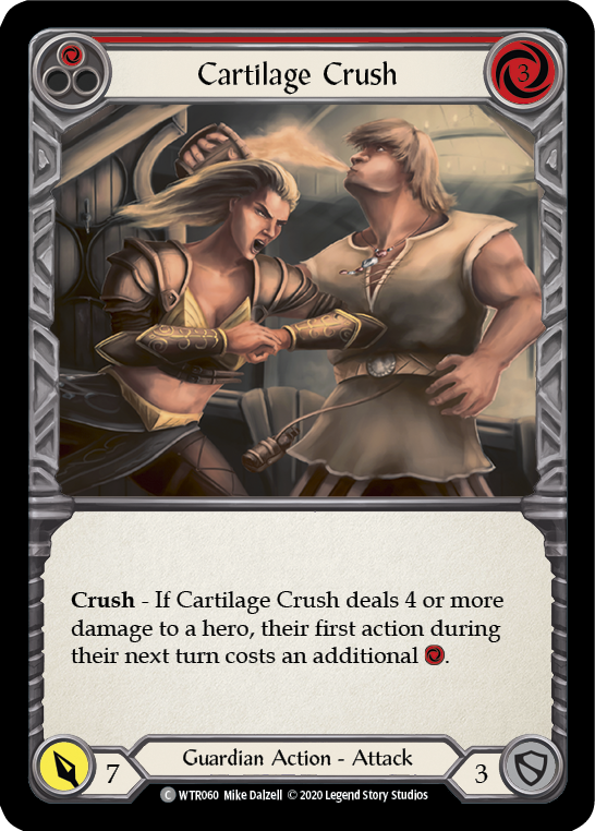 Cartilage Crush (Red) | Common [Rainbow Foil] - Unlimited