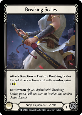 Breaking Scales | Common [Rainbow Foil] - Unlimited