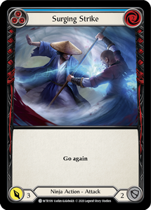Surging Strike (Blue) | Common - Unlimited