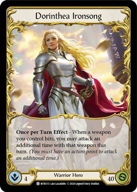 Dorinthea Ironsong | Token - Unlimited