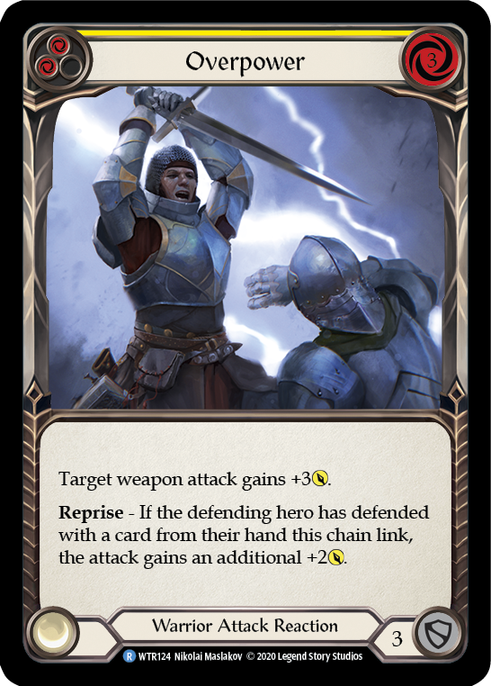 Overpower (Yellow) | Rare - Unlimited