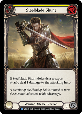 Steelblade Shunt (Yellow) | Rare - Unlimited