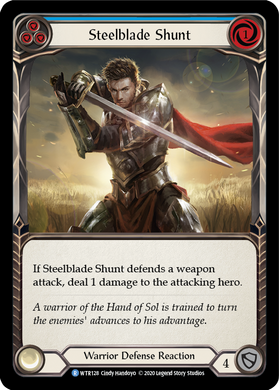 Steelblade Shunt (Blue) | Rare - Unlimited