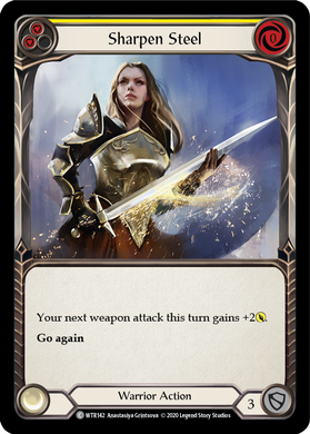 Sharpen Steel (Yellow) | Common - Unlimited