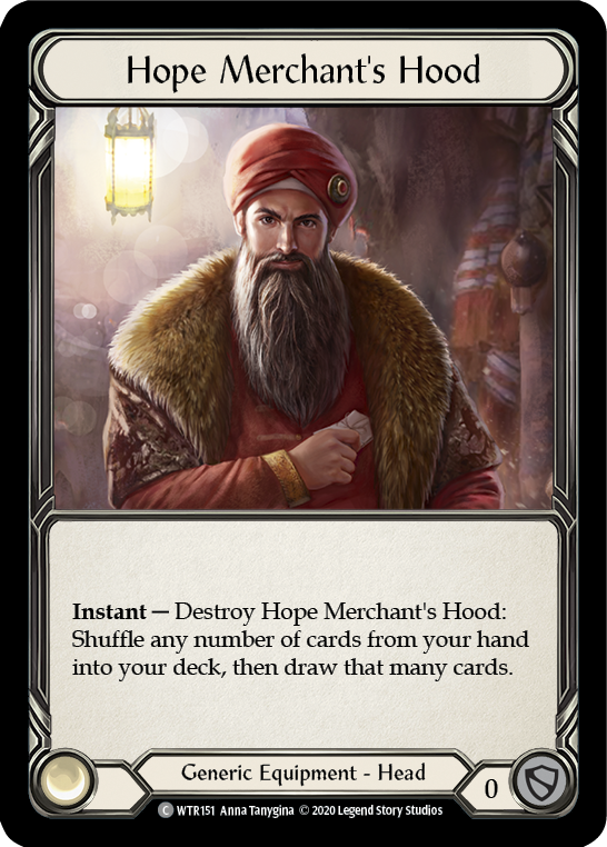 Hope Merchant's Hood | Common [Rainbow Foil] - Unlimited