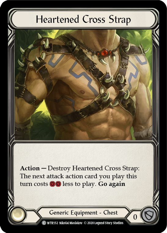 Heartened Cross Strap | Common [Rainbow Foil] - Unlimited