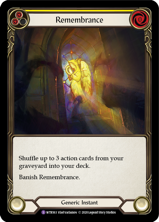 Remembrance | Super Rare [Rainbow Foil] - Unlimited