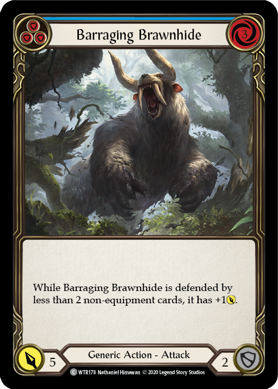Barraging Brawnhide (Blue) | Common - Unlimited