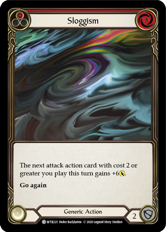Sloggism (Red) | Common [Rainbow Foil] - Unlimited