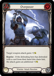 Overpower (Blue) | Rare - Alpha Print