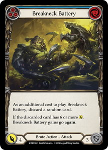 Breakneck Battery (Blue) | Rare [Rainbow Foil]