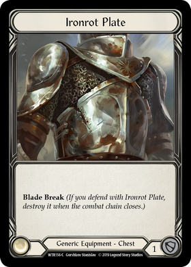 Ironrot Plate | Common [Cold Foil]