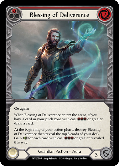 Blessing of Deliverance (Red) | Rare