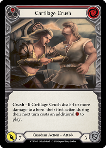 Cartilage Crush (Red) | Common [Rainbow Foil] - Alpha Print