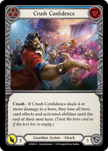 Crush Confidence (Blue) | Common [Rainbow Foil] - Alpha Print
