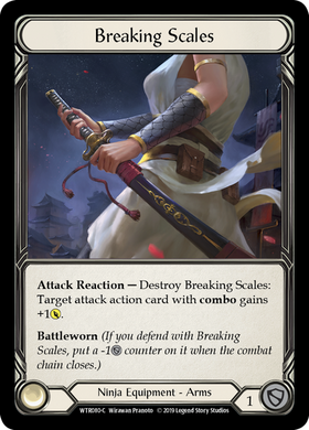 Breaking Scales | Common [Cold Foil] - Alpha Print