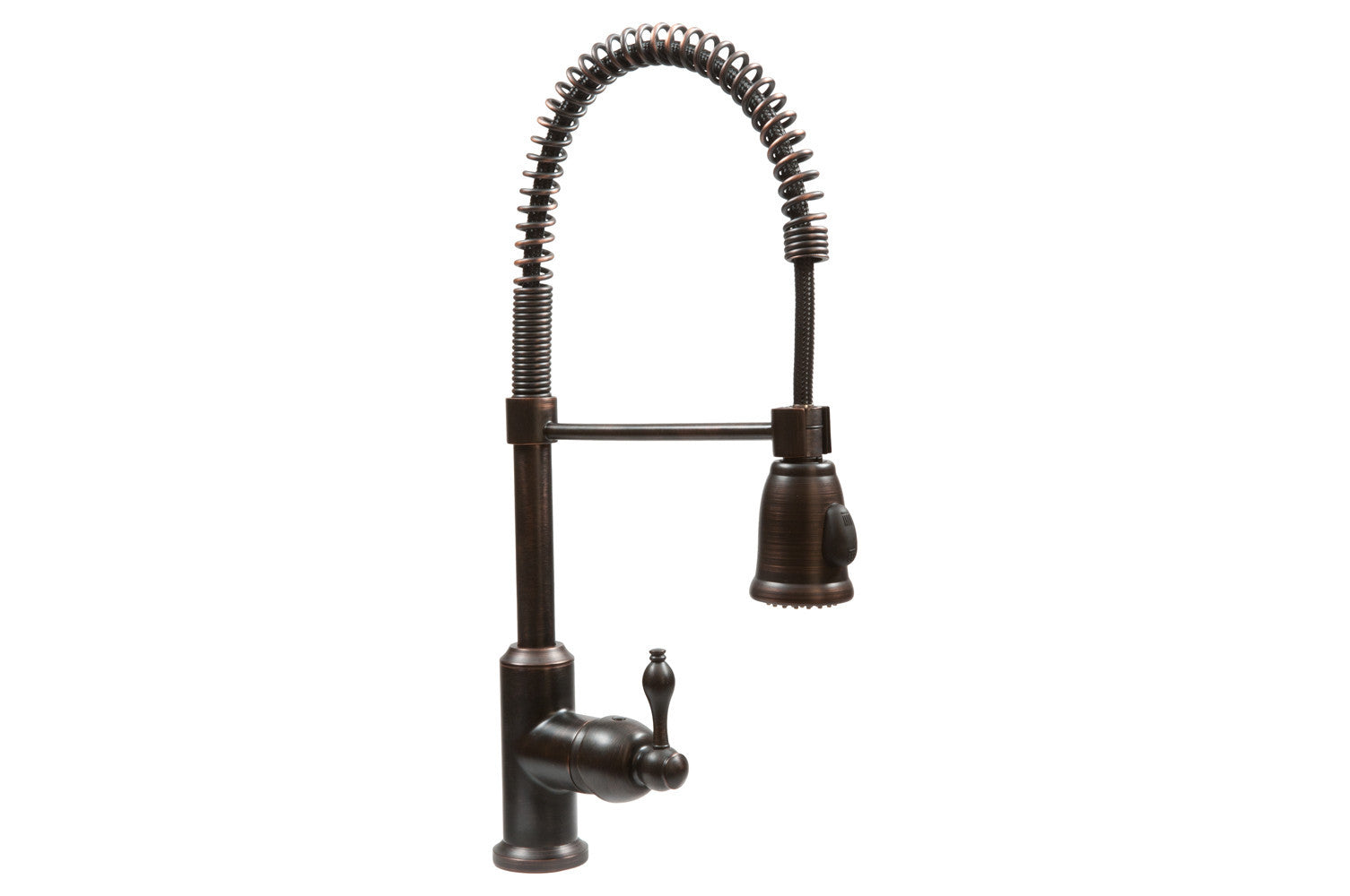 Spring Pull Down Kitchen Faucet In Oil Rubbed Bronze Corbel Universe