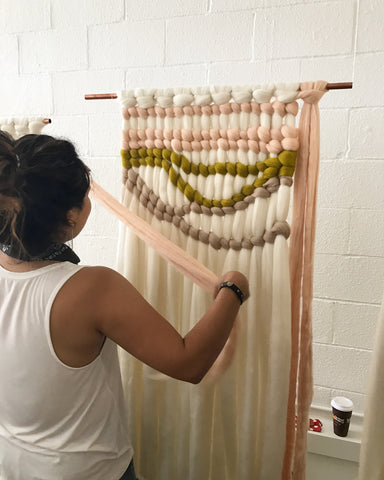 Off Loom Roving Weaving Kit