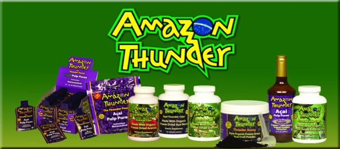 Amazon Thunder Organic Supplements for Better Health