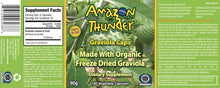 Load image into Gallery viewer, Organic and Kosher Certified Freeze Dried PURE Soursop /  Graviola Capsules