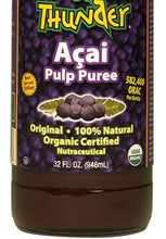 Load image into Gallery viewer, Potent Detox 20,000 Orac units per serving - Organic and Kosher Certified PURE Açai Berry Pulp Puree Liquid.  Great immunity support!
