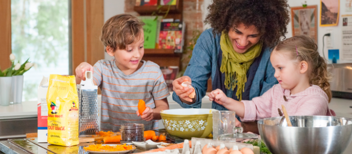 Activities like cooking teaches kids skills as well as different lessons not just in cooking but also in math, science, health and other subjects.