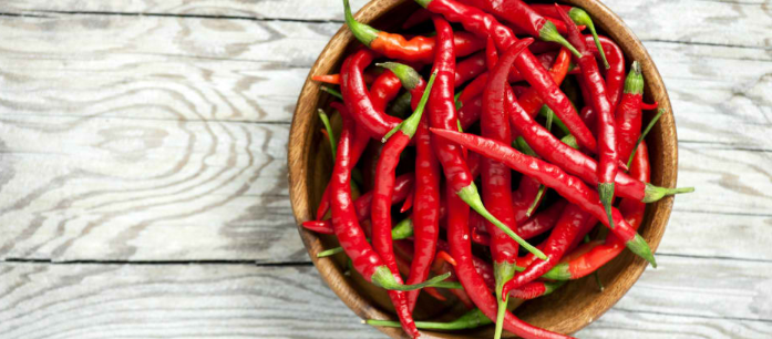 Eating red chili peppers regularly does not only enhance the taste of a dish, but it also adds various benefits which help improve your overall health.