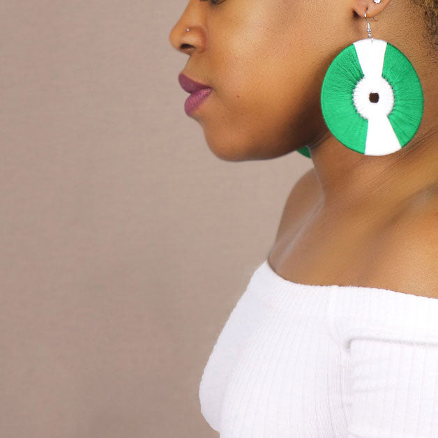 Oscar Statement Earrings - Juste Etre