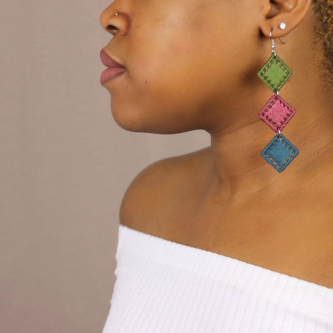 Bunmi Statement Earrings - Juste Etre