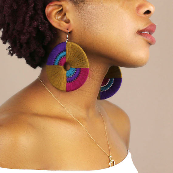 Daryl Statement Earrings - Juste Etre