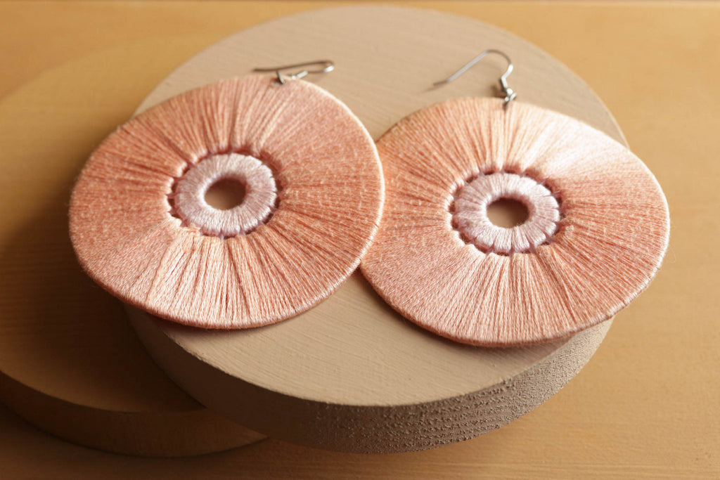 Omer Statement Earrings - Juste Etre