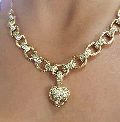 DARUXX™ - Heart Pendant Jewelry Set