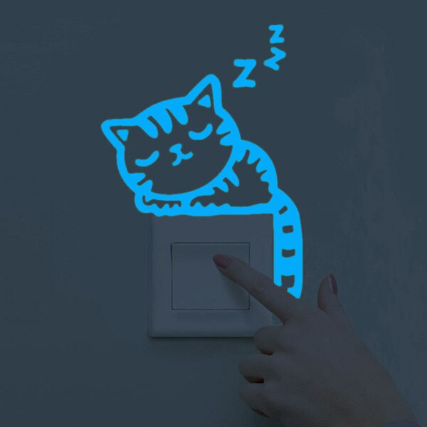 Adorable Night Light 3D Switch Stickers! ✨