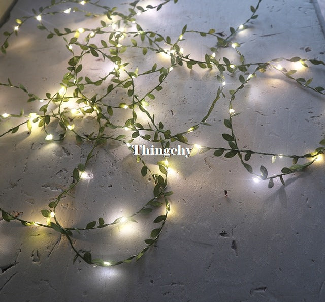 Little Leaves Garland Fairy Lights