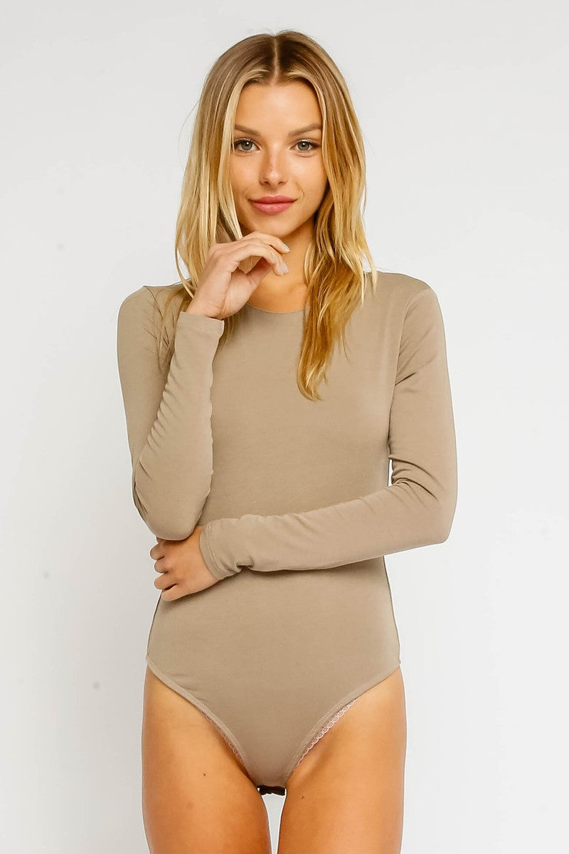 Crew Neck Bodysuit
