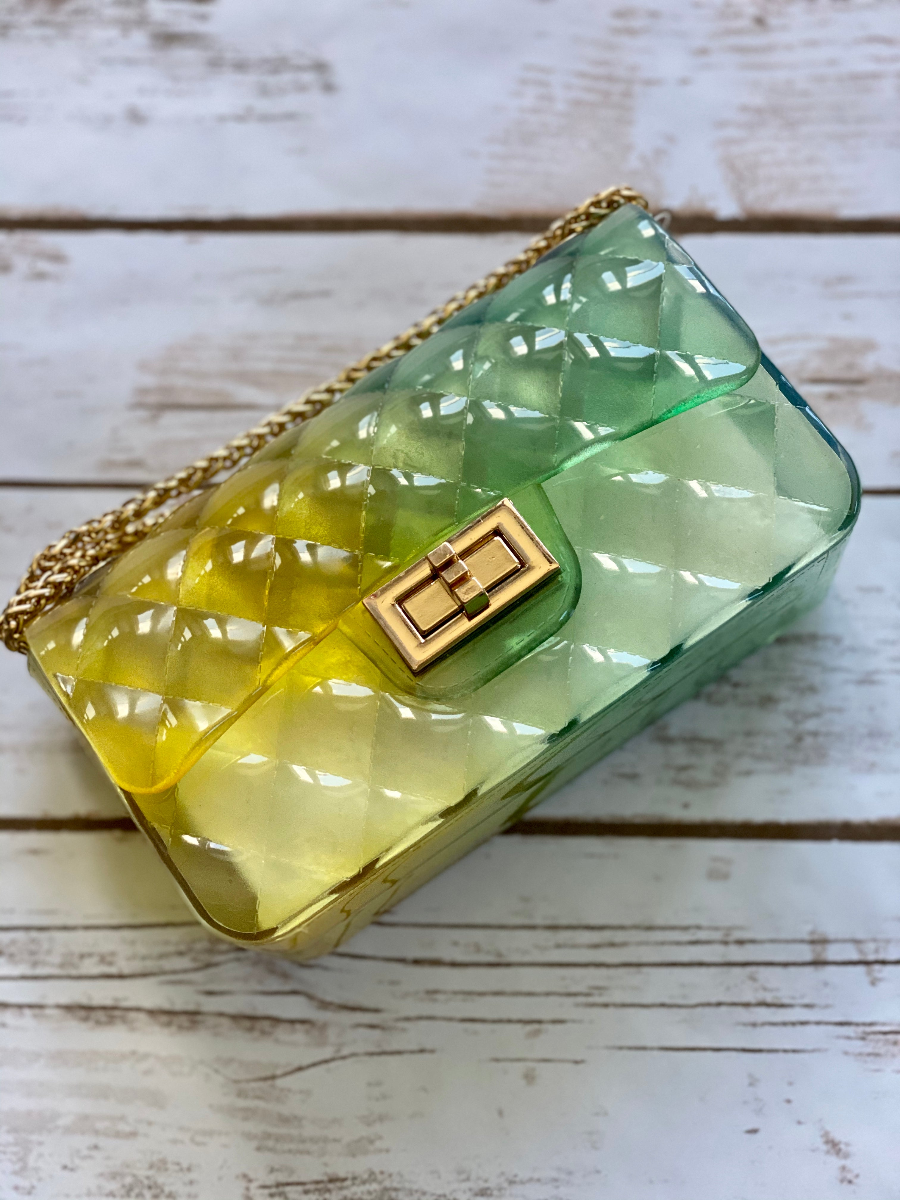 Sheyli Jelly Handbag