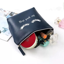 Load image into Gallery viewer, Eyelash Cosmetic Bag