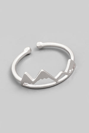 Mountain Cut Out Ring
