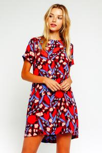 Monet Floral Shift Dress