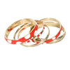 Polka Dot Bangles - SIX color options!