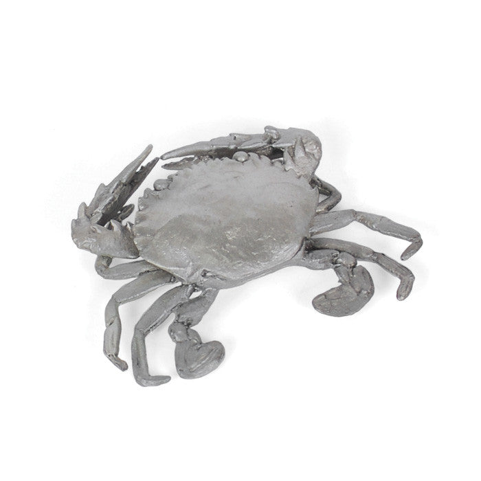 Polished Nickel Crab