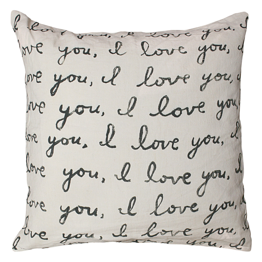 Love Letter Pillow