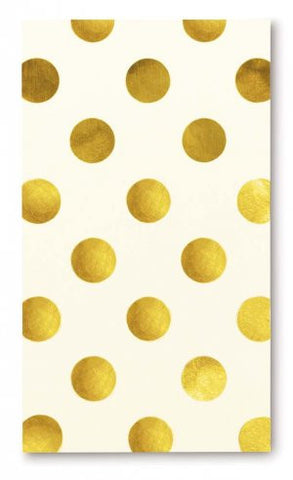 Kate Spade Small Notepad - Gold Dots