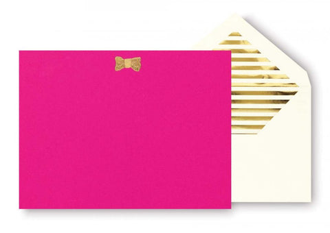 Kate Spade - Correspondence Cards - Gold Bow