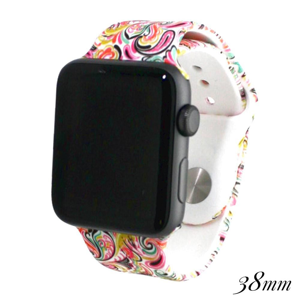 Apple Watch Band - Paisley 38MM