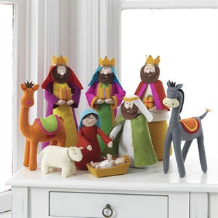 "15"" Plush Nativity"